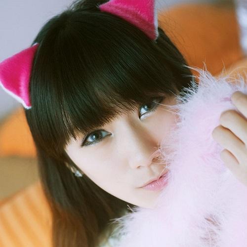 齐刘海女孩图片:很久以前的故事图片