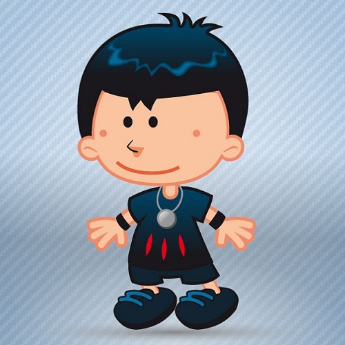 动漫效果小男孩高清头像图片:高智商不一定幸福