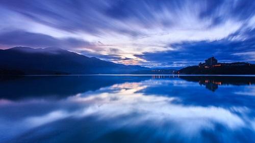 win10自然风景电脑主题下载:有一种思念叫蓝色图片