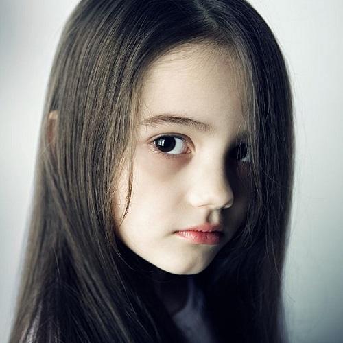 欧美可爱小萝莉图片500x500分辨率头像