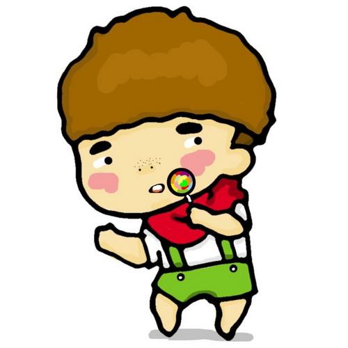 动漫图片男生可爱头像500x500分辨率_北海亭-最简单的